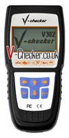 V-Checker V302 Russian VAG CANBUS Code Reader