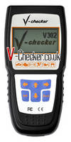 V-Checker V302 Dutch VAG CAN Bus Code Reader