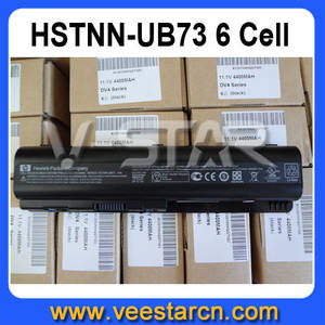 Wholesale battery cell: 6 Cell Battery HSTNN-UB73 For HP DV4 DV5 G50 G60 CQ60 CQ61 CQ45