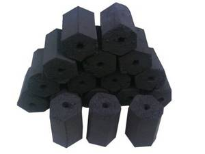 Wholesale coconut charcoal: Coconut Shell Charcoal Briquettes