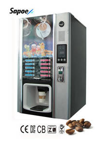 Wholesale coin change dispenser: 2013 Popular Hot & Cold Coffee Vending Machine