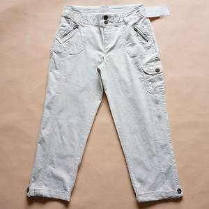 Wholesale Apparel Stock: Women's Pencil Pants (Crop Pants) 3/4 Length Pants in Stock