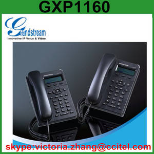 Wholesale sip ip phone: Grandstream GXP1160 WIFI SIP VOIP IP Phone