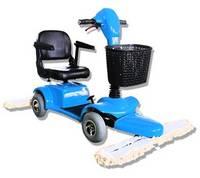 YJ-A408 Four Wheels Dust Push Cart