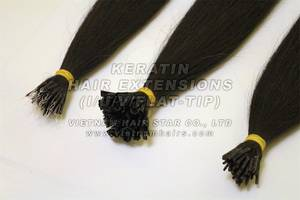 Wholesale gift: Vietnamese Hair Extension 100% Remy Virgin, Gift To Beautiful Ladies