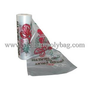 Wholesale food: Plastic Bag On Roll for Food Packing