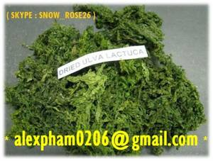 Wholesale sea lettuce: Dried Ulva Lactuca Seaweed, Sea Lettuce Powder