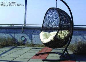 Wholesale chair: Synthetic Rattan Hanging Chair