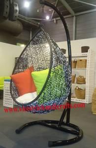 Wholesale water hyacinth furniture: Polly Rattan Swing