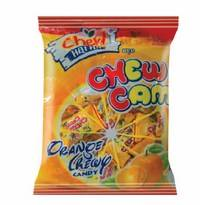 Wholesale candy: Orange Chewy Candy