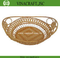 Wholesale baskets: Nice Fruit Bamboo Basket for Kitchen