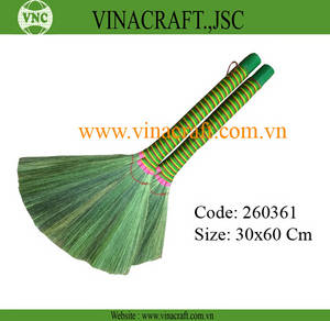 Wholesale handicrafts: Medium Grass Broom for Children