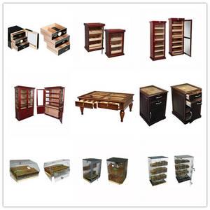 Wholesale cabinet display: VinBro Cigar Display Cabinet Acrylic Case Commercial Cabinet Furniture Humidor