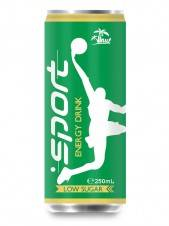 Wholesale private label energy drink: Aluminium Can Sport Energy Drink Low Sugar