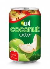 Wholesale export: Canned Coconut Water with Apple Flavour Beverage Exporters in Alu Can