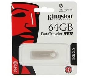 Wholesale drive: Kingston 64GB DataTraveler SE9 64G USB 2.0 Flash Drive