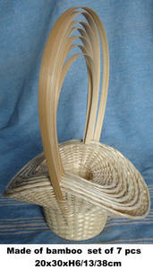 Wholesale Bamboo Products: Bamboo Basket