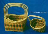 Wholesale bamboo: Fern Bamboo Basket