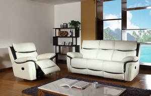 Wholesale furniture: Modern Style Living Room Furniture Rocker Electric Leather Recliner Sofa