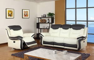 Wholesale sofa: Modern Style Living Room Furniture Rocker Electric Leather Recliner Sofa