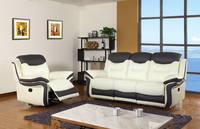Modern Style Living Room Furniture Rocker Electric Leather Recliner Sofa