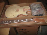 Quality Electric Guitar Kit Les Paul Custom