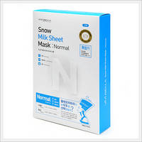 Snow Milk Sheet Mask : Normal