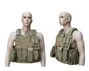 Wholesale Bullet Proof Vest: 1000D Nylon Tactical Security Combat Vest