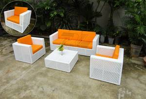 Wholesale table covers: Comfortable Aluminium Outdoor Garden Rattan Furniture