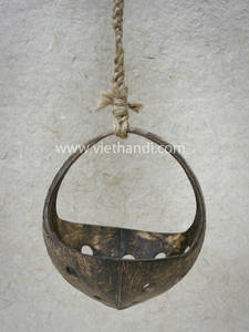 Wholesale baskets: Coconut Shell Hanging Basket