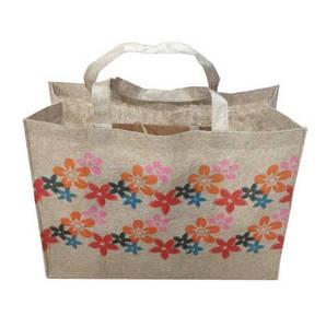 Wholesale non woven bags: Jute Non-woven Bag
