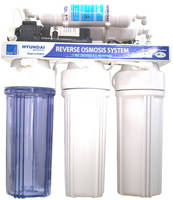 Reverse osmosis system for under the sink