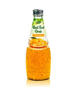 Wholesale beverage: Basil Seed Drink with Orange