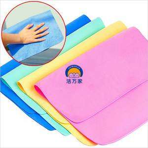 Wholesale cleaning car: PVA Chamois Car Cleaning Sponge Towel