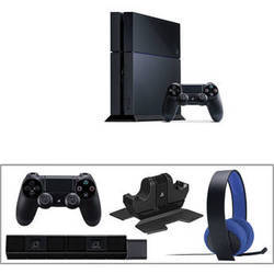 Wholesale game accessory: New_Gaming Console_sony_playstation 4 Kit with 10 Games Camera & Extra Accessories