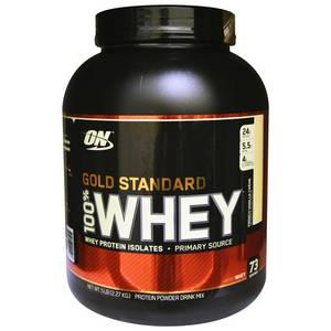 Wholesale sweet whey powder: Gold Standard 100% Whey Protein 5lb