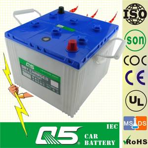 Wholesale dry battery: Dry Charged Car Battery