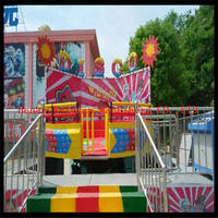 Sell New design crazy amusement theme park rides disco tagada