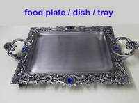 Sell metal tray, big rectangular tray