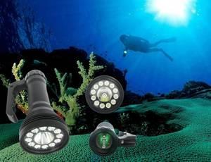 Wholesale led submersible light: Diving LED Flashlight