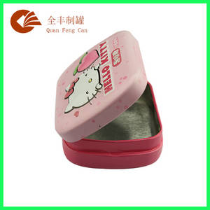 Wholesale candy tin: Fashion Design Packaging Metal Tin Box for Candy