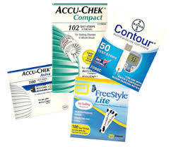 Wholesale diabetic test: Diabetic Test Strip : ACCU CHEK and One Touch Strips