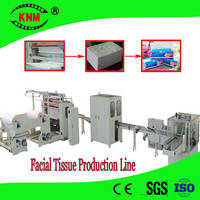 Sell automatic facial tissue paper production line machines