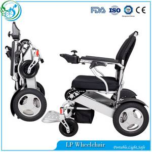 Wholesale skype phone: D09 Light Folding Handicapped Power Wheelchair Use in Home and Outdoor