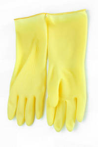 Wholesale used car: Household Latex Gloves L (Combi)
