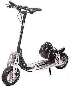 Wholesale gasoline: XG-575-DS 50cc 2 SPEED High Performance Gas Scooter