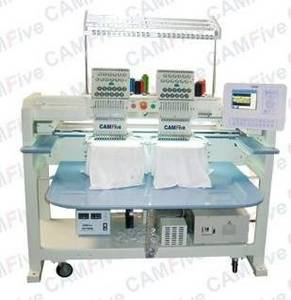 Wholesale embroidery machine thread: Embroidery Machine 02 Head 12 Color