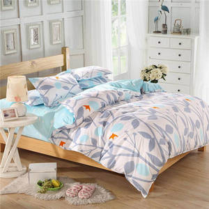 Wholesale bed sheets twin: Home Bedding Sets Satin/Cotton Sateen Duvet Covers and Sheets Sets/Quality Sheet