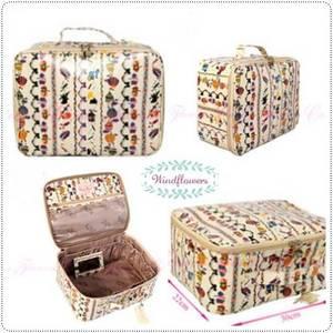Wholesale fashion: Colorful Fashion Makeup Bags