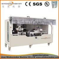 Aluminum Curtain Wall V Notching Machine